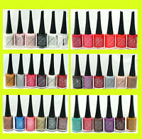 Leticia Well nail Polish New spring lot of SIX COLORS High gloss wholesale SET