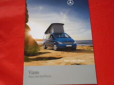 Mercedes Viano marco polo Westfalia viaje móvil folleto de 2008