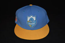 Vintage NFL San Diego Chargers Fitted Hat 2 Tone Blue/Yellow by Reebok 7 1/2