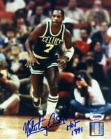 Nate Archibald Psa Dna Coa Signed 8x10 Celtics Photo Autograph