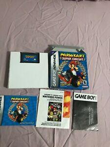 Mario kart super circuit cib gameboy advance Authentic  (Rare) 🔥🔥🔥🔥🔥