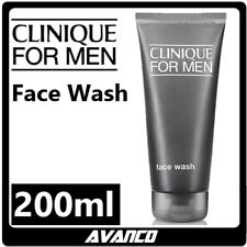 CLINIQUE For Men Face Wash Gel Cleanser Daily AntiAge Dry Skin Shave 200ml NEW