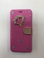 iphone 8 plus case Diamond 3D (Hot Pink)