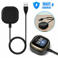 Magnetic USB Charger Cable Charging Dock For Fitbit Versa 3 / Sense Smart Watch