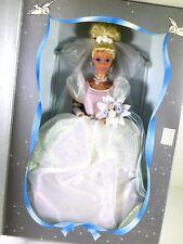NIB BARBIE DOLL SIZE 1995 WALT DISNEY WEDDING CINDERELLA PRINCESS