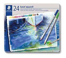 Steadler Colored Pencils Karat Aquerel 24 Colors 125 M24 NEW from Japan