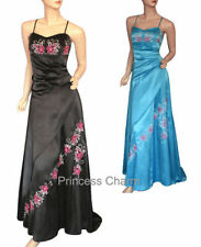 Satin Long Regular Size Dresses for Women