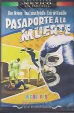 DVD - Pasaporte A La Muerte NEW El Santo Blue Demon Eric Castillo FAST SHIPPING