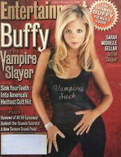 "Sarah Michelle Gellar ""Buffy"" October 1999 Entertainment Weekly Magazine"