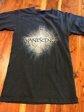 Vintage Evanescence 2011 Band T Shirt Size Xs Black Preowned