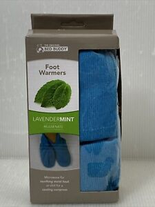Bed Buddy Foot Warmers with Aromatherapy - Heated Slippers and Feet Warmers
