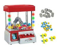 Home Arcade Carnival Crane Claw Game Electronic Grabber Candy Gum Toys Machine