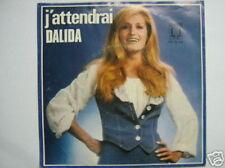 DALIDA 45 TOURS HOLLANDE J'ATTENDRAI