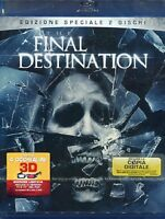 Final Destination  2D + 3D (Blu Ray + DVD) WARNER HOME VIDEO