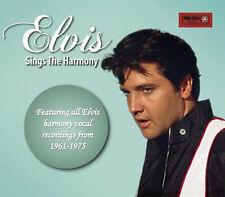 ELVIS SINGS THE HARMONY - Deluxe 6 Panel DigiPak CD - New & Sealed - PRE ORDER