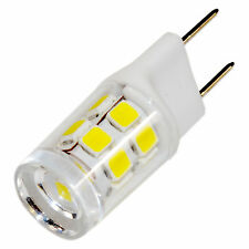 HQRP 110V G8 Bi-Pin Base SMD 2835 17 LEDs Light Bulb for Microwave ovens Kitchen