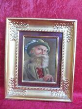 schönes altes Gemälde, alter Mann in Tracht , Öhi  ,signiert