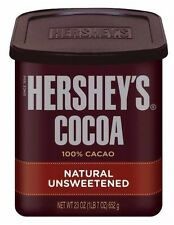 Hershey�€™s Cocoa Powder 652g Tub Natural Unsweetened COCOA USA