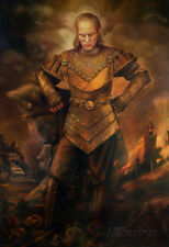 Ghostbusters Movie Vigo the Carpathian Art Print Poster Poster Print, 24x36