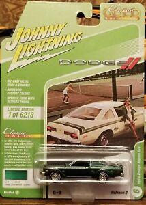 JOHNNY LIGHTNING 2021 CLASSIC GOLD SERIES 2 #6 1976 DODGE ASPEN R/T VER B