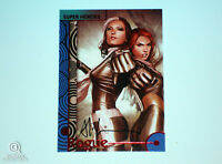 2013 Fleer Marvel Retro Rogue Autograph Base Card #36 Adi Granov Signed X-Men