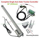 Complete 1KW Single Axis Solar Tracker Kit-Solar Panel Sunlight Tracking System
