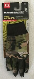 Under Armour Coldgear Boys Youth Camo Insulator Glove 1302552 Size S/M NWT