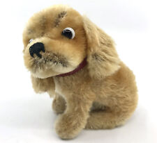Steiff Revue Susi Cocker Spaniel Dog sitting Mohair Plush 12cm 5in 1960s no ID