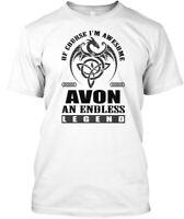 Avon Legend Dragon Black Men Hanes Tagless Tee T-Shirt