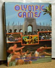 OLYMPIC GAMES ATHENS 1896 LOS ANGELES 1984 PETER ARNOLD HARDCOVER BOOK