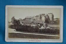 1870/80s CDV France Carte De Visite Photo Dieppe Le Vieux Chateau
