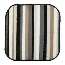 New Ikea SAXSKÄR Bathmat, Black, multicolor