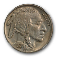 1921 Two Feathers Buffalo Nickel 5C NGC AU 58 Rare 2 Feathers Variety
