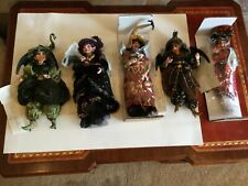 Nwt Lot 5 Mark Roberts Witches Cranky Haughty Kitchen Villainous Naughty North