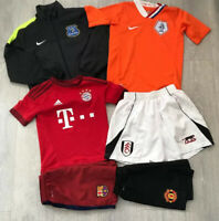 Boys bundle job lot football jacket shirts shorts 8-10 years Nike Adidas