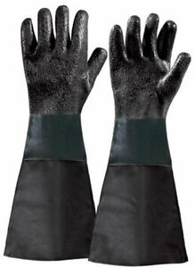 Coppia di guanti per sabbiatrice Fervi articolo 0575/29