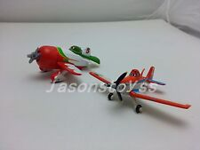 Mattel Disney Pixar Planes Dusty Crophopper & El Chupacabra Toy Plane Loose New