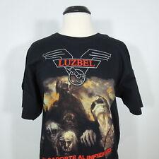 LUZBEL Pasaporte Al Infierno T-Shirt Black Men's size S (NEW)