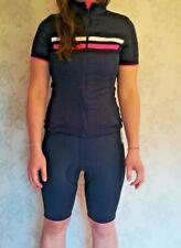 RAPHA Femme Violet Blanc Maille Rembourré Cyclisme classique Cuissard II S Bnwt
