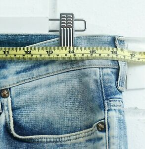 Men's G-Star Raw Denim 3301 Button Fly Shorts Size 32