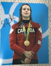 PENNY OLEKSIAK SIGNED AUTOGRAPHED 2016 OLYMPICS SWIMMING  11x14  PHOTO PROOF #2