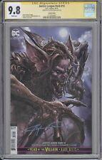 Justice League Dark #14 CGC SS 9.8 Clayton Crain signed variant cover DC comics
