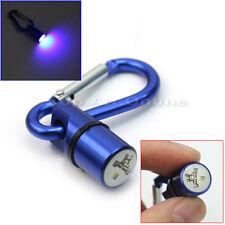 Bleu Pendentif de Collier Nuit Clignotant LED Sécurité Pet Chien Lumière Boucle