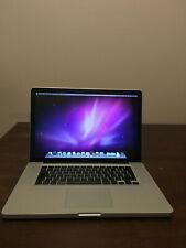 Apple MacBook Pro 15 (Mid 2009) - Core 2 Duo 2.66GHz, 4GB RAM, 320GB HDD