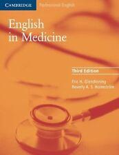 English in Medicine: A Course in Communication Skills Cambridge Professional En