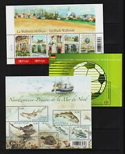 Belgium - 5 Souvenir sheets from 2006 - cat. $ 45.00 - see 2 scans !