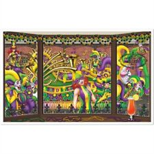 "Mardi Gras Mardi Gras Insta-View 38"" x 62"" Mardi Gras Decorations Wall Decor"