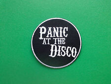 HEAVY METAL PUNK ROCK MUSIC SEW ON / IRON ON PATCH:- PANIC! AT THE DISCO (b)