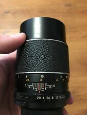 Auto Chinon 135mm f/2.8 SLR Film Camera Lens - M42 Screw Mount - Very Nice