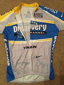 Nike Dri Fit Trek Racing Cycling Jersey Size L